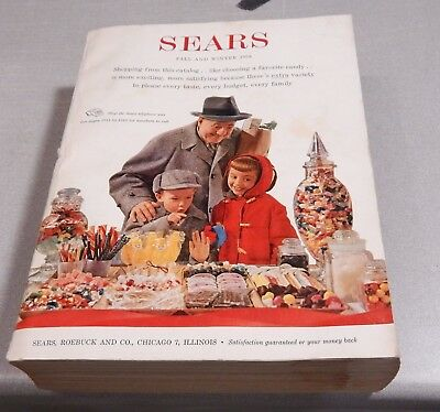 1958 Sears Roebuck Catalog   Fall and Winter Chicago Edition