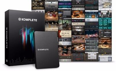 Native Instruments Komplete 11, Hard Drive ONLY, NO License or Serial