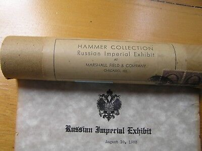 Gold & Silver Brocades: A. Hammer Russian Imperial Exhibit,  Marshall Field 1933
