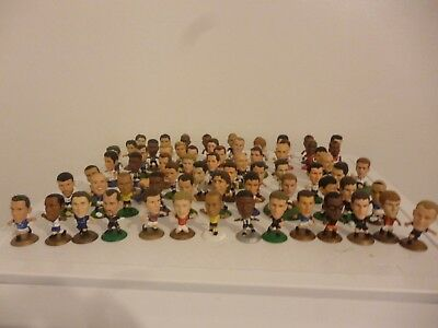 Microstars Football Figures Job lot of 69, most from 2002-onward, lots of GOLD