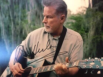 Authentic Don Henley signed autographed photo 8 x 10 COA The Eagles
