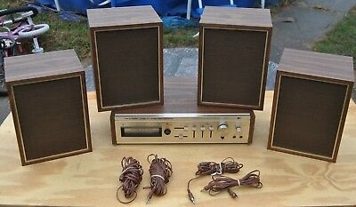 Realistic tr-284b 2/4 Channel Stereo 8-Track and Phono