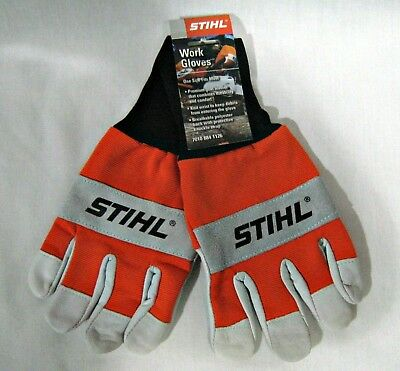Stihl One Size Fits Most Comfortable Protective Work Gloves