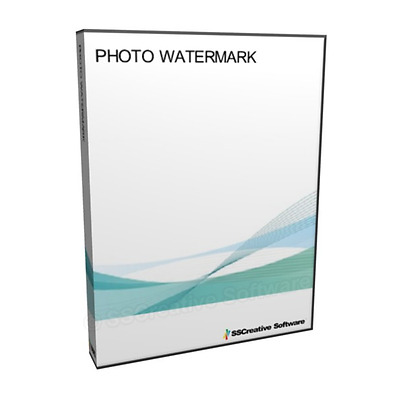NEW - Photograph Photo Image Watermark With Text Logo Editing Software Windows P