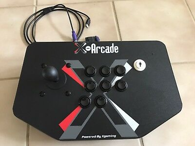 X-Arcade Solo Arcade Stick - Xgaming - USB & PS/2 port - no longer made