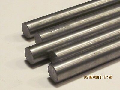 """5 MM  Stainless Steel Rod / Bar Round  304   6""""  Long 2 Pcs"""