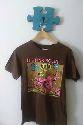 The Flaming Lips YoshImi Concert Tour T-Shirt It's Pink Rock Small