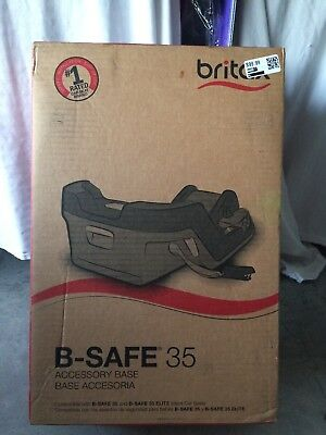 Britax B-Safe 35 and B-Safe Elite Infant Car Seat Accessory Base - NEW