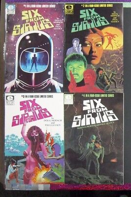 Six from Sirius #1-4 Complete (1984, Epic Comics - NM, 4 Comics)