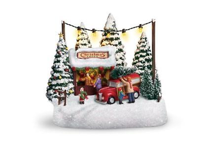 Thomas Kinkade 2017 Christmas Family Tree Collectible Teleflora  BEST FINALPRICE