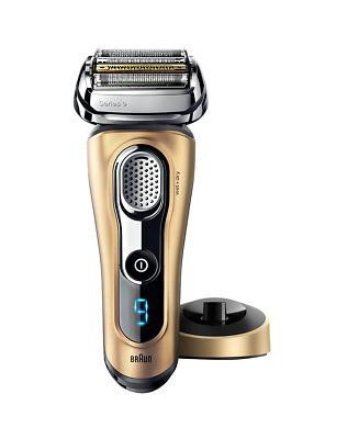 New Braun Series 9 Wet/Dry Electric Shaver Gold Edition Grey 100 1124