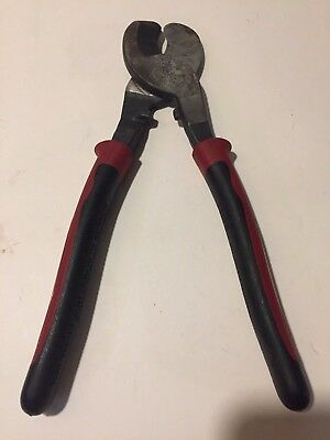 Klein Journeyman J63050 High-Leverage Cable Cutters Pliers Used J63050SEN