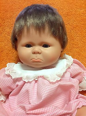 Vintage 1964 BERJUSA Pouty Doll - Hard To Find!