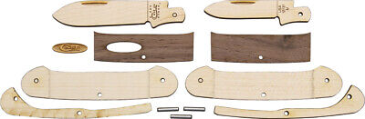 Case Cutlery Wooden Canoe Folding Knife Craft Project Kit Made in USA EDC 12131W