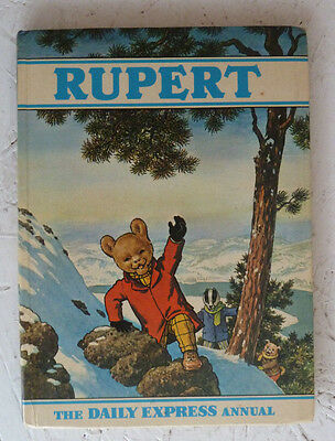 Rupert Daily Express Annual 1970 Good Used Book