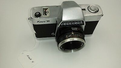 Kowa H Camera with Kowa 48mm f/2.8 Lens c.1963-67 For parts/Repair