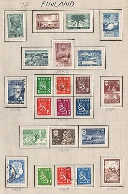 Finland   Lot Of Old Stamps #7R