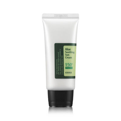[COSRX] Aloe Soothing Sun Cream - 50ml / Free Gift