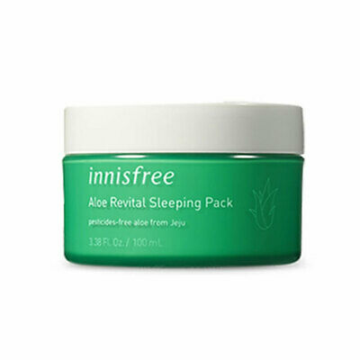 [INNISFREE] Aloe Revital Sleeping Pack - 100ml / Free Gift