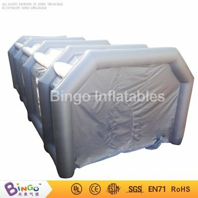 23ftx16ftx10ft / 7mx5mx3m Oxford Cloth Inflatable Car Spray Booth Paint Tent R@