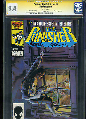 The Punisher Limited Series #4 CGC 9.4 SS Mike Zeck JIGSAW