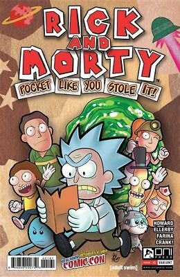 Rick And Morty Pocket Like You Stole It #1 NYCC New York Comicon Exclusive