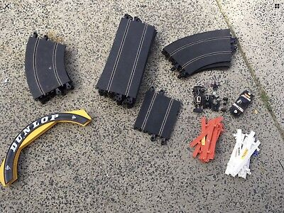 Vintage Scalextric Track & Accessories 18 Pieces Bridge