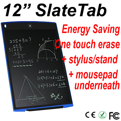 "Clearance!!12"" Lcd Writing Board/tablet/paperless Writing Rrp $39.99!!!!!"