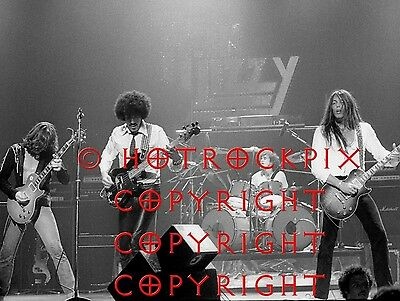 Archival Quality Photo Of Phil Lynott Of Thin Lizzy
