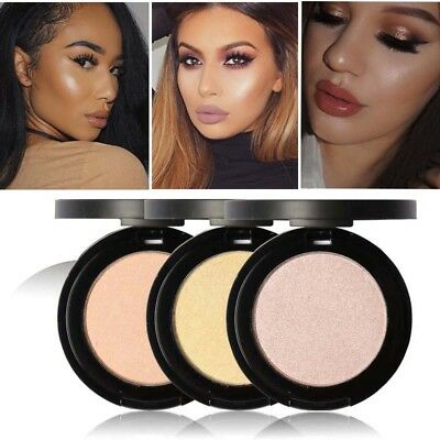 Shimmer Blusher Highlight Eyeshadow Loose Powder Blush Brand Glitter Cosmetic