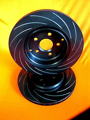 R-TYPE SLOTTED REAR 330mm FORD FPV BA GT GTP Disc Brake Rotors suits BREMBO