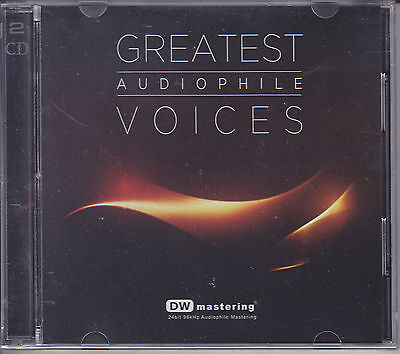 Greatest Audiophile Voices Vol.1 DW Mastering 24bit/96KHz 2-CD New Sealed