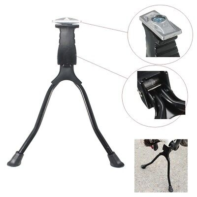 Double Leg Side Stand Kick Kickstand Spring Center Support Bicycle Mountain Bike