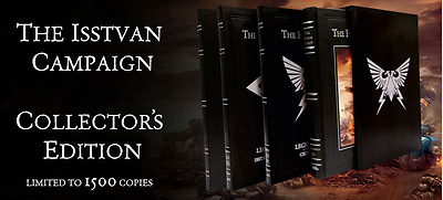*** Horus Heresy - The Isstvan Campaign Complete Limited Collectors Edition ***
