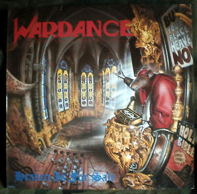 Wardance – Heaven Is For Sale LP with insert heavy metal GER