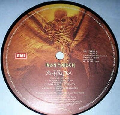 Iron Maiden – Fear Of The Dark LP ONLY RECORD 1 (A/B)
