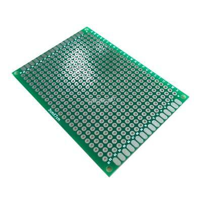 New 1PC Double Side Print Printed Circuit Board Prototyping Track Strip EH