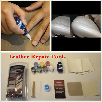 Auto Repair Kit Car Seat Sofa Scratch Cracks Leather Repair Restoration Tools