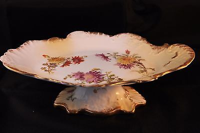 HAMMERSLEY ANTIQUE 1895c MAPLE & Co LONDON COMPOTE TAZZA DESSERT CAKE STAND