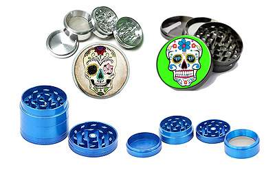 Hight Quality Metal  GRINDER Tobacco Crusher 4 Pieces/4Lyers-40mm-Muertos-