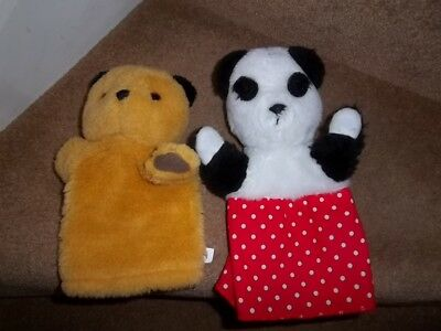 Sooty & Soo Glove Puppet Soft Toys Patsy B Marketing Pms