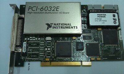 NI PCI-6032E 16-channel analog input multi-function data acquisition card