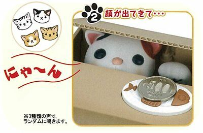 New Automated Stealing Coin Kitty Cat Saving Money Box Piggy Bank Child Gift St