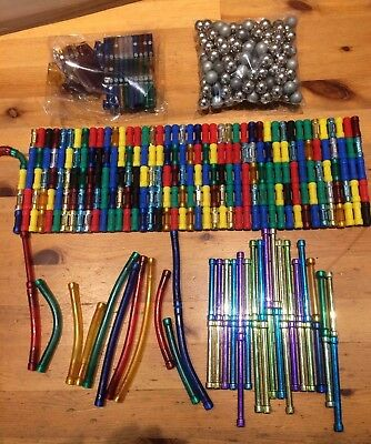 JOB LOT APPROXIMATELY 475 piece MAGNExt/UNBRANDED COMPATIBLE WITH GEOMAG