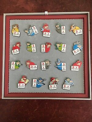 Beijing Olympics 2008 - Set of 19 mascot pins