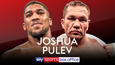 Anthony Joshua v Kubrat Pulev Tickets In area N3 all 6 seats are in together