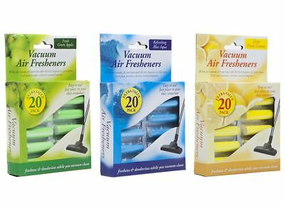 Vacuum Cleaner Air Freshners Hoover Scented Dust Bags Filters PACK Of 20