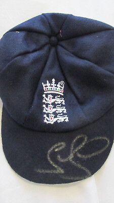 Signed Stuart Broad England Baggy Cap with Exact Proof & COA
