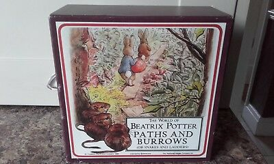 The World Of Beatrix Potter Paths And Burrows Board Game.