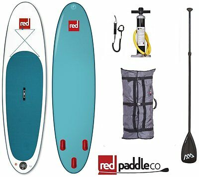 Red Paddle Co iSUP Set 10.8' Stand Up Paddle Surfboard Inflatable Paddle Pump